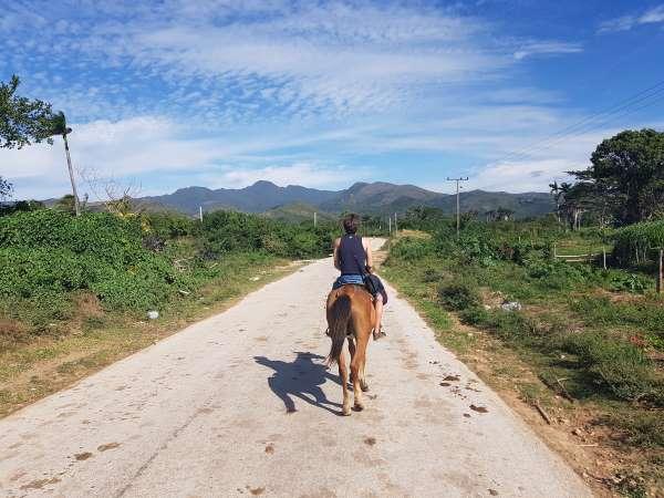 Visiter Trinidad en cheval