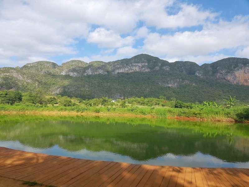Lac vallée vinales