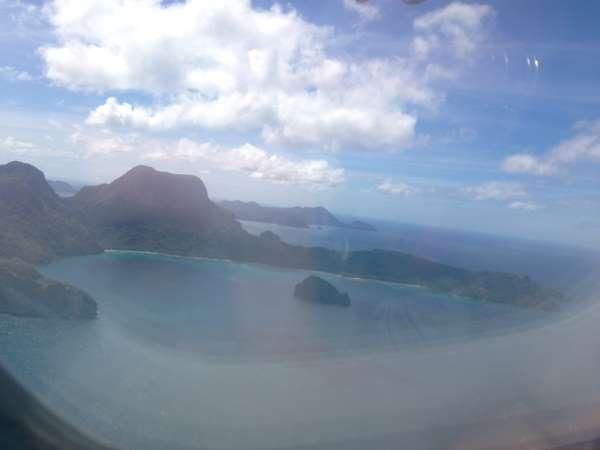 Vue sur El Nido Palawan