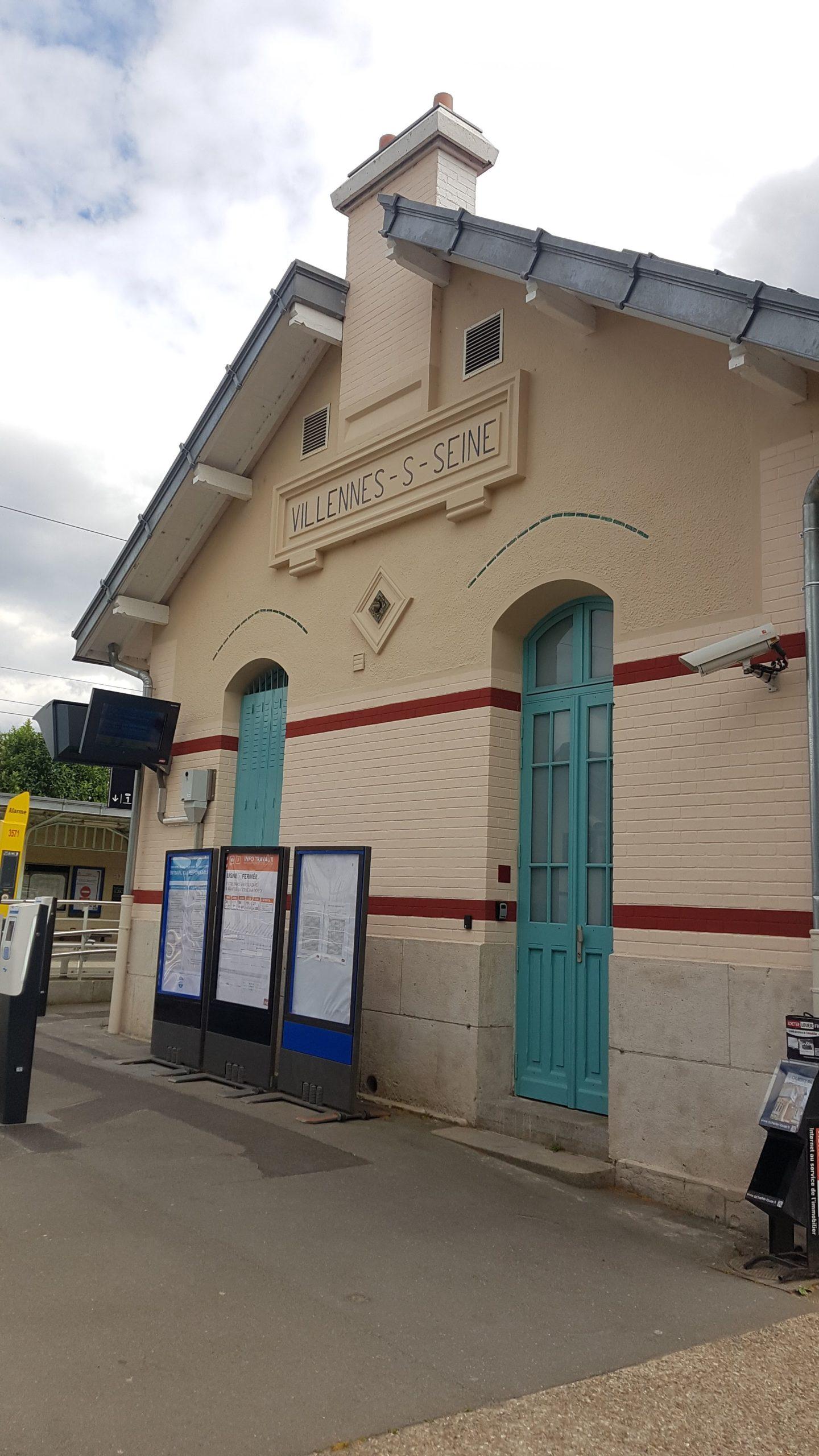 Gare de Villennes sur Seine