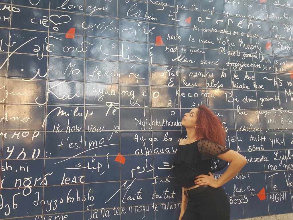Mur des je t'aime Monmartre