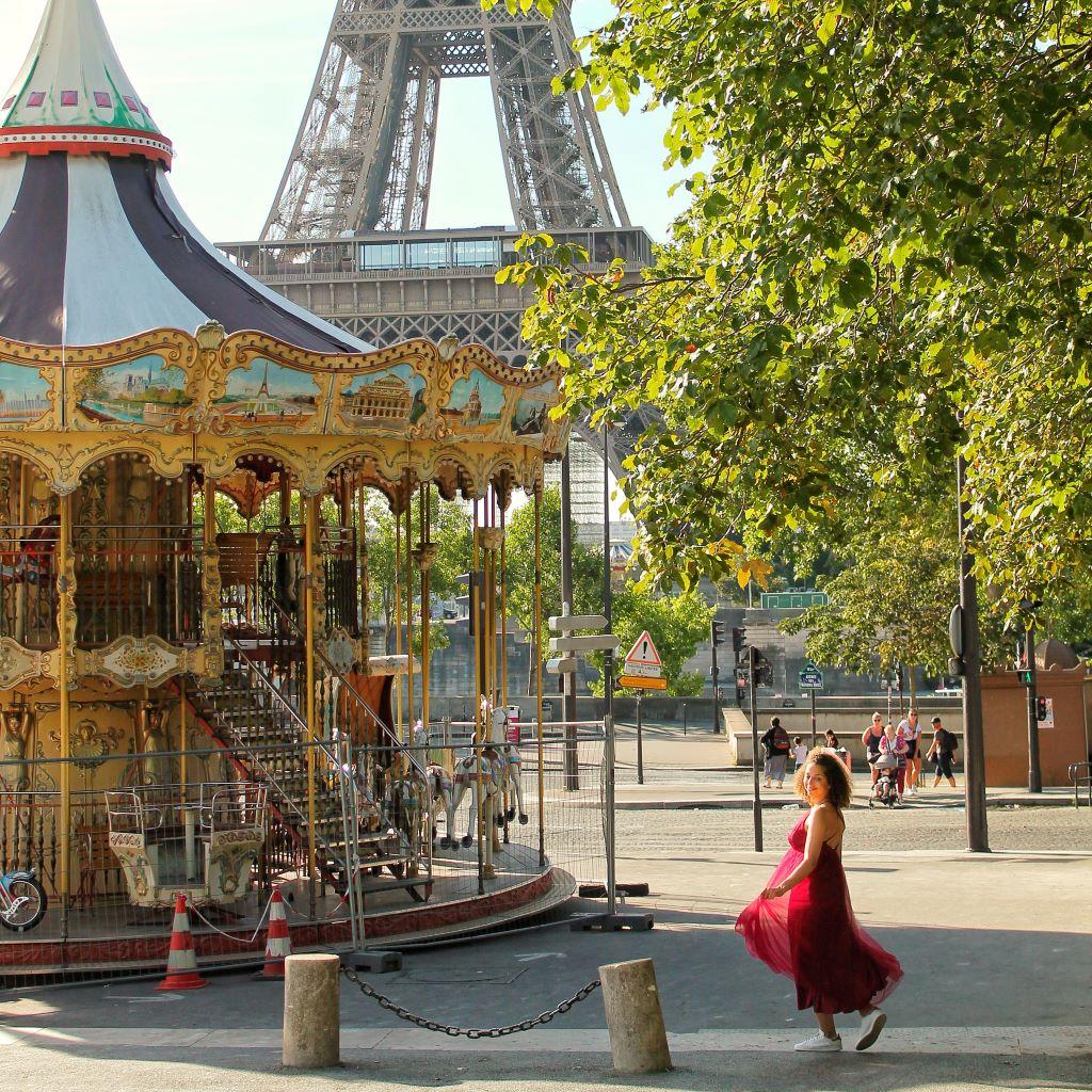 Paris Eiffel Tower photo spot