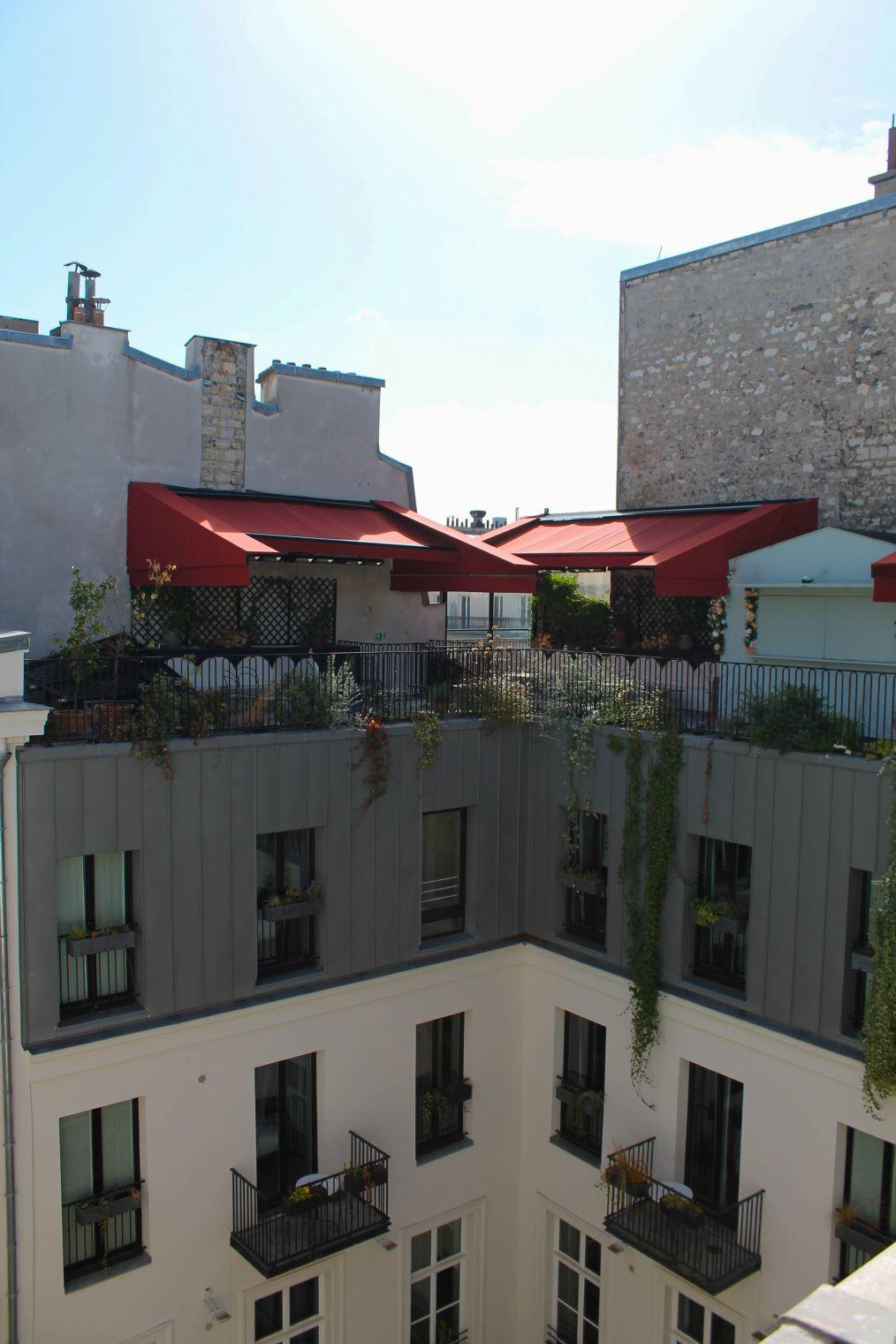 Hotel à Paris avec Terrasse
