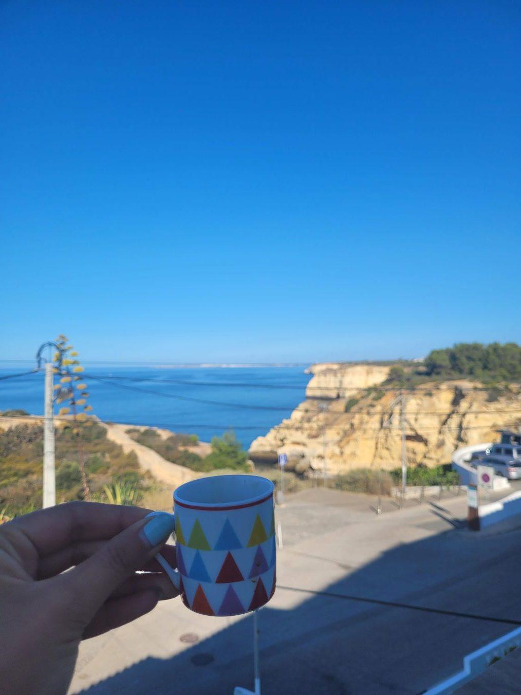 Café sur terrasse