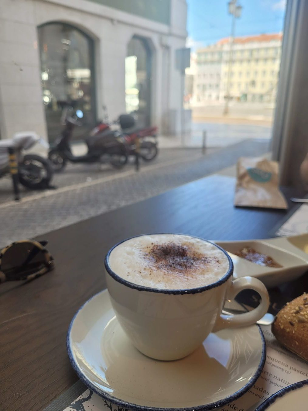 Café à Lisbonne